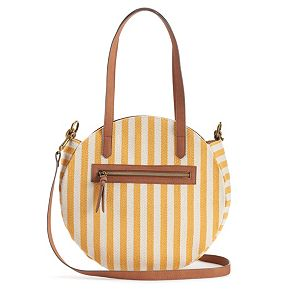 SONOMA Goods for Life? Hermosa Striped Round Tote