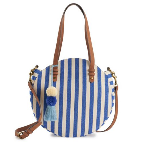 SONOMA Goods for Life™ Hermosa Striped Round Tote