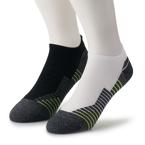 Men's Under Armour 2-pack Run 2.0 No-Show Tab Socks