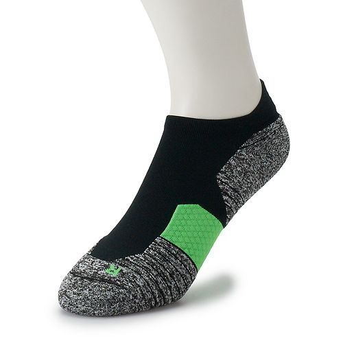 Men's Under Armour 2-pack Run 2.0 Cushioned No-Show Tab Socks