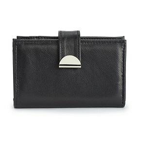 Apt. 9® RFID-Blocking Lambskin Tab Wallet