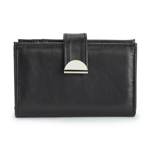 Apt. 9® RFID-Blocking Lambskin Tab Wallet