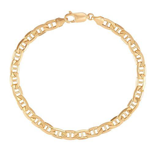 10k Gold Marine Chain Bracelet