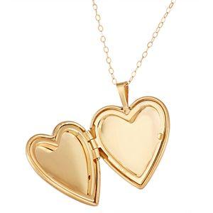10k Gold Mom Heart Locket