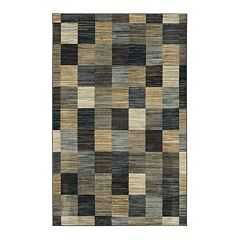 Mohawk® Home Mercario Smoke Blue Geometric Area Rug