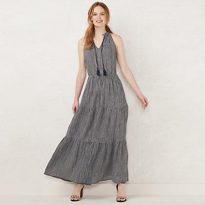 NEW! Women's LC Lauren Conrad Sleeveless Maxi Dress
