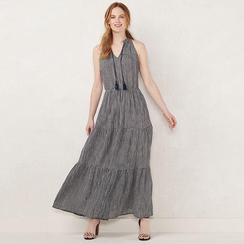 07459b793f5495 NEW! Women s LC Lauren Conrad Sleeveless Maxi Dress