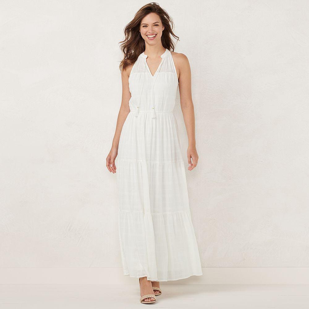 Women's LC Lauren Conrad Sleeveless Maxi Dress