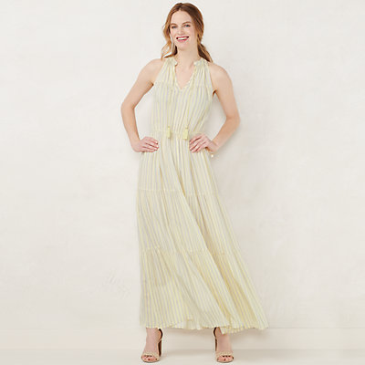 NEW! Women's LC Lauren Conrad Sleeveless Maxi Dress