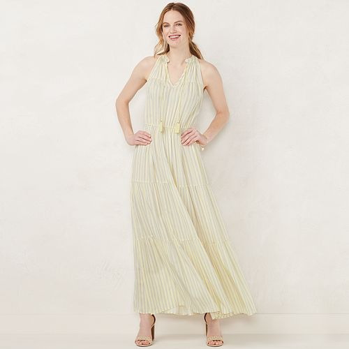 082f7e4400a NEW! Women s LC Lauren Conrad Sleeveless Maxi Dress