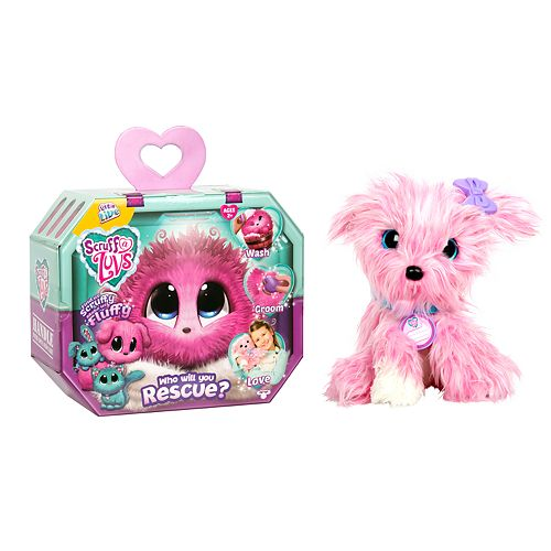 Little Live Scruff-a-Luv Plush Mystery Rescue Pet - Pink