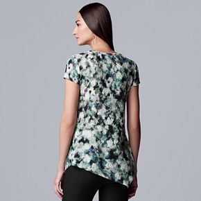 Women's Simply Vera Vera Wang Short Sleeve Pucker Tee