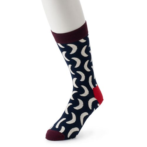 Men's HS by Happy Socks Patterned Fashion Crew Socks