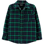 Toddler Boy OshKosh B'gosh® Flannel Button-Front Shirt