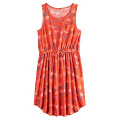2effb6eed3ae Girls 7-16 & Plus Size SO® Tie Waist Tank Dress