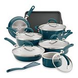 Rachael Ray Create Delicious 13-pc. Aluminum Nonstick Cookware Set