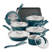 Rachael Ray Create Delicious 13 Piece Aluminum Nonstick Cookware Set