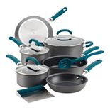 Rachael Ray® Create Delicious 11-pc. Hard-Anodized Aluminum Nonstick Cookware Set