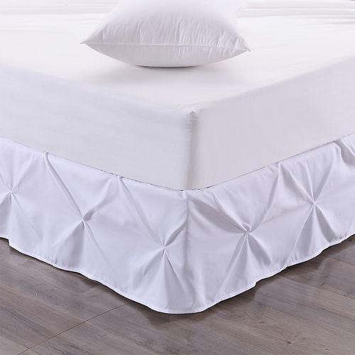 Sweet Home Hudson Pintuck Ruffle Bedskirt