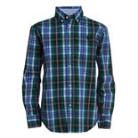 Boys 4-20 Chaps Long Sleeve Woven Shirt