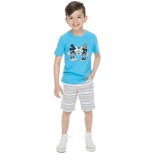 Disney's Mickey & Minnie Mouse Boys 4-7 Family Fun™ Graphic Tee