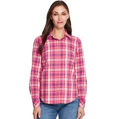 Women's IZOD Button-Front Shirt