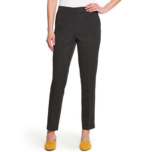 Women's IZOD Pull-On Slim Ankle Pants