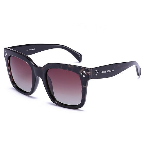 Women's PRIVÉ REVAUX The Heroine 53mm Square Sunglasses