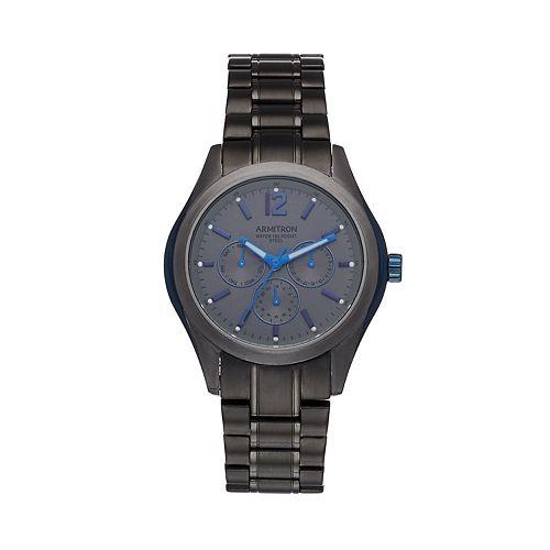Armitron Men's Gunmetal Stainless Steel Watch - 20-5350BLDG