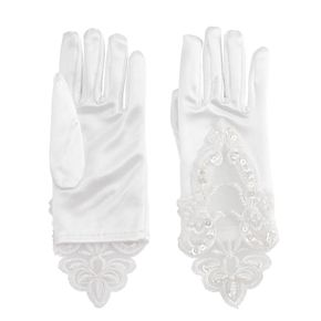 Girls 4-6 Embroidered Lace Gloves