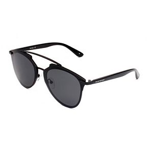 Unisex PRIVÉ REVAUX The Benz 58mm Polarized Round Sunglasses