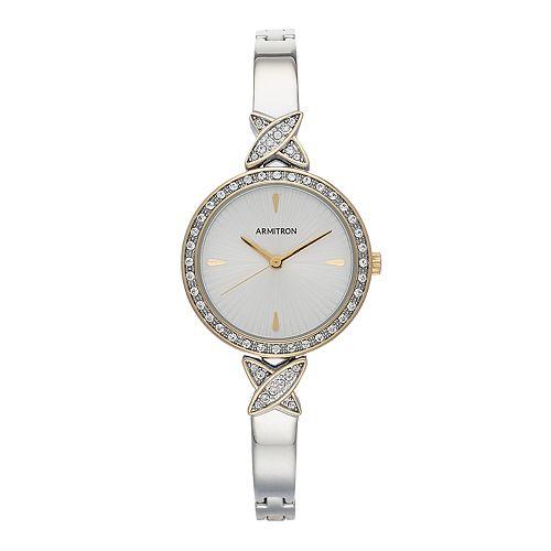 Armitron Women's Crystal Watch - 75-5654SVTT