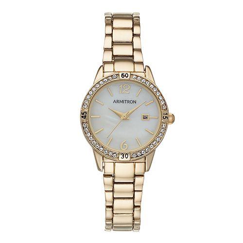 Armitron Women's Crystal Watch - 75-5658MPGP