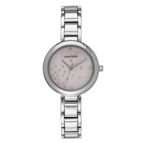 Armitron Women's Crystal Watch - 75-5588PMSV