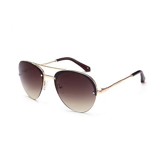 Unisex PRIVÉ REVAUX The Warrior 60mm Polarized Round Sunglasses