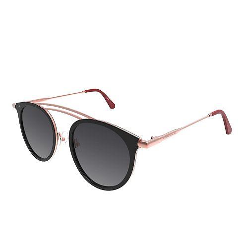 Women's PRIVÉ REVAUX The Rogue 55mm Polarized Round Sunglasses