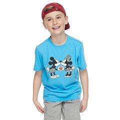 Disney's Mickey & Minnie Mouse Boys 8-20 Family Fun Graphic Tee