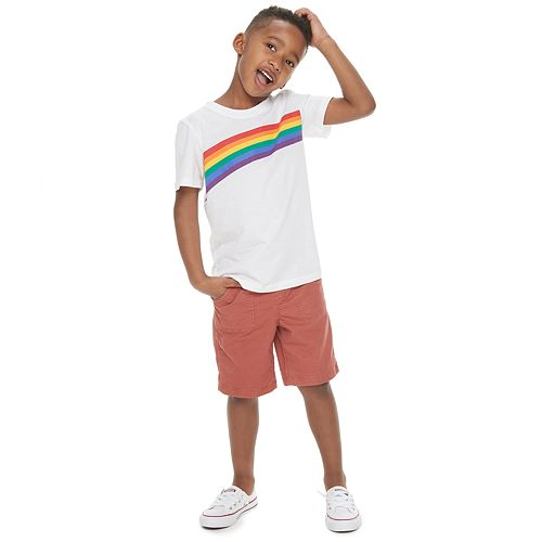 Boys 4-7 Family Fun™ Rainbow Pride Graphic Tee