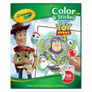 Disney / Pixar Toy Story 4 Crayola Color & Sticker Book