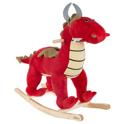 Happy Trails Rocking Dragon