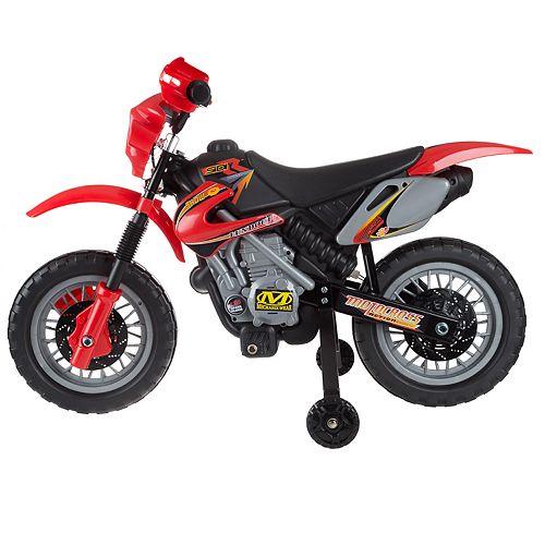 Lil' Rider Kids Beginner Battery Powered Dirt Bike-Ride On Vehicle