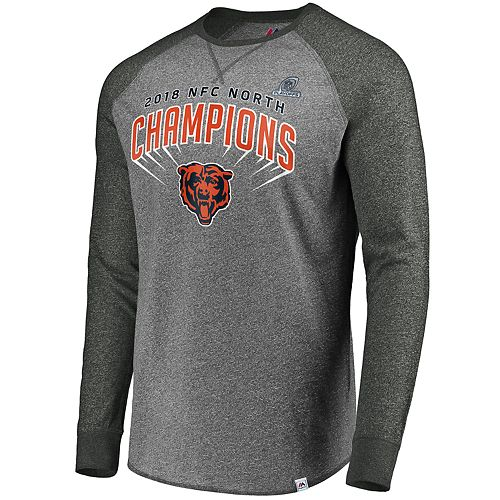 afb41741f Men s Chicago Bears 2018 NFC North Champions Tee