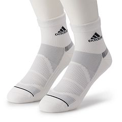 Men's adidas 2-pack climalite Superlite Prime Mesh III Quarter Socks