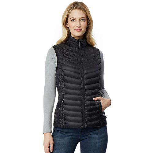 Women's Heat Keep Silk Nano Packable Down Vest