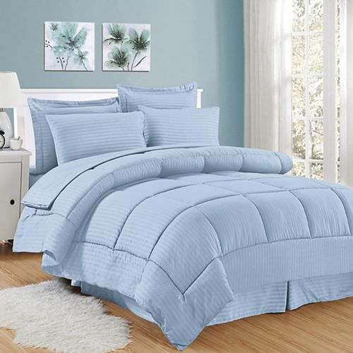 Sweethome Collection Hotel Dobby Embossed Bedding Set