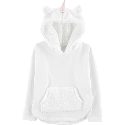 Girls 4-12 Carter's Unicorn Pullover Fleece Hoodie