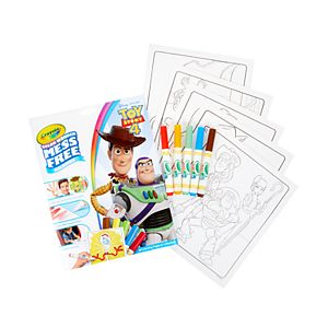 Disney / Pixar Toy Story 4 Crayola Color Wonder Mess Free Coloring Book