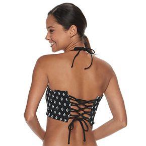 Mix and Match Smocked Bandeau Bikini Top