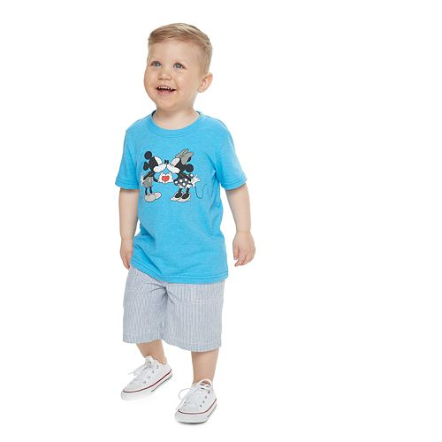 Disney's Mickey & Minnie Mouse Toddler Boy Family Fun™ Graphic Tee