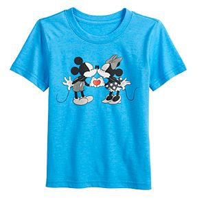 Disney's Mickey & Minnie Mouse Toddler Boy Family Fun? Graphic Tee